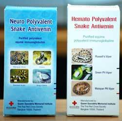 Anti venin hémotoxique polyvalent pour neutraliser le venin de la vipère de Mala